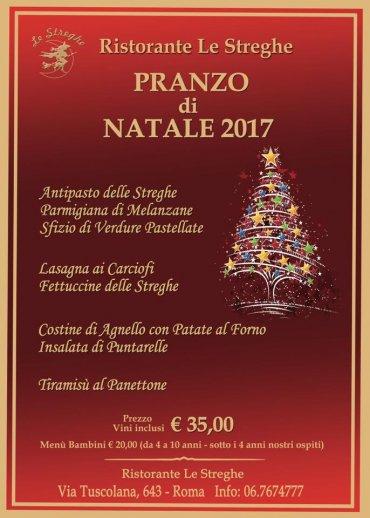 Menu Di Natale A Roma.Pranzo Di Natale 2017 A Roma Eventi Serate A Tema Cena