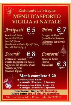 Menu Vigilia Di Natale 2019.Eventi Serate A Tema Cena Spettacolo Ristorante Le