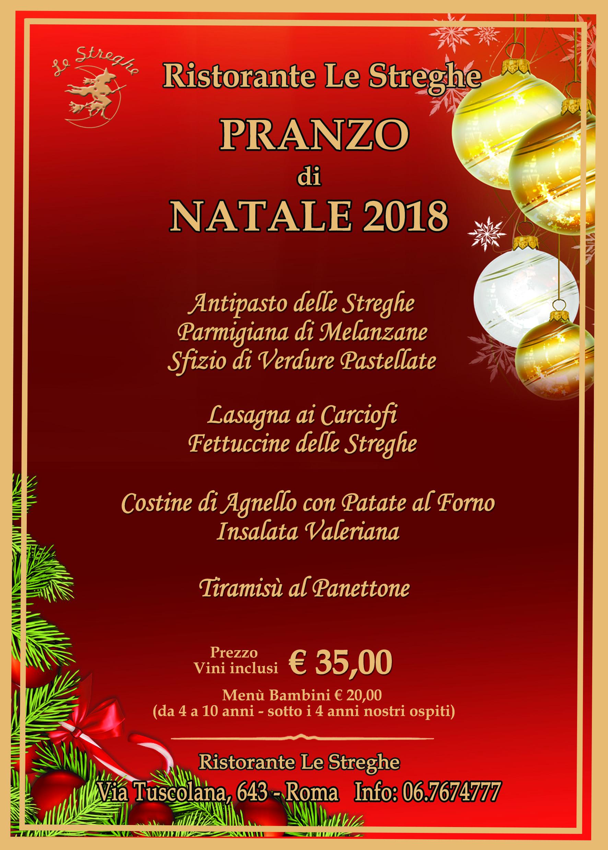 Menu Di Natale A Roma.Pranzo Di Natale 2018 Eventi Serate A Tema Cena